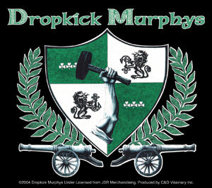 Dropkick Murphys Shield Sticker