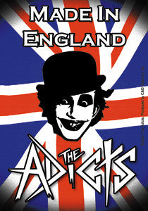 Adicts Union Jack Sticker - DeadRockers
