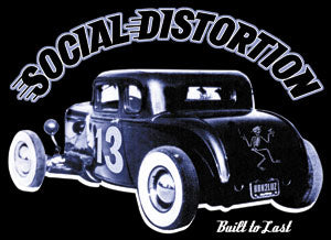 Social Distortion Hot Rod Sticker