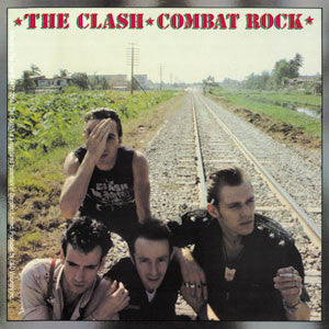 The Clash Combat Rock Sticker