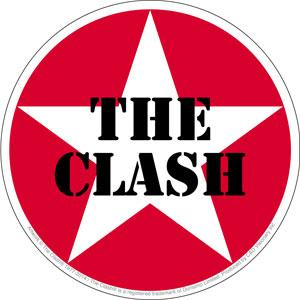The Clash Star Sticker