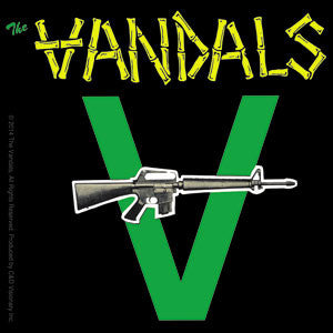The Vandals Gun Logo Sticker