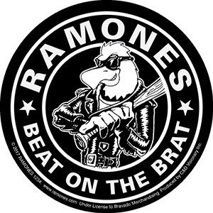 Ramones Beat on The Brat Sticker