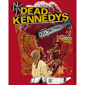 Dead Kennedys Kill the Poor Sticker
