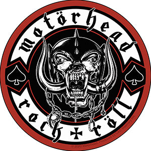 Motorhead Rock & Roll Sticker