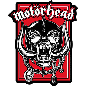 Motorhead Warpig in Red Sticker