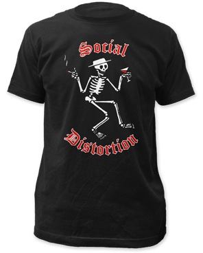 Social Distortion Skeleton Band Shirt