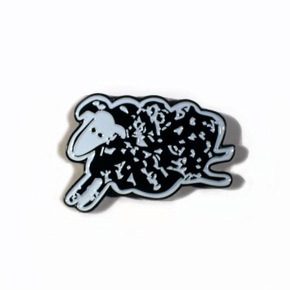 Black Sheep Enamel Pin