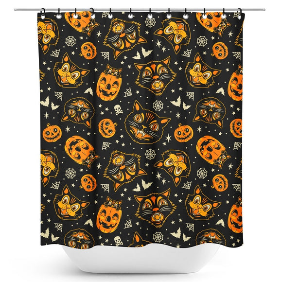 Halloween Flash Art Shower Curtain