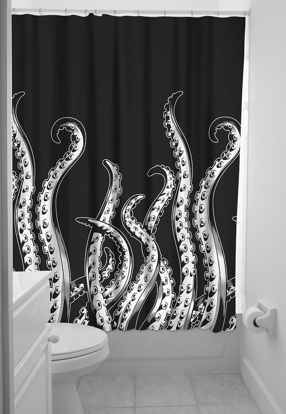 Tentacles Shower Curtain - DeadRockers