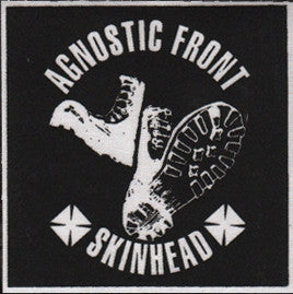 Agnostic Front Skinhead Patch - DeadRockers