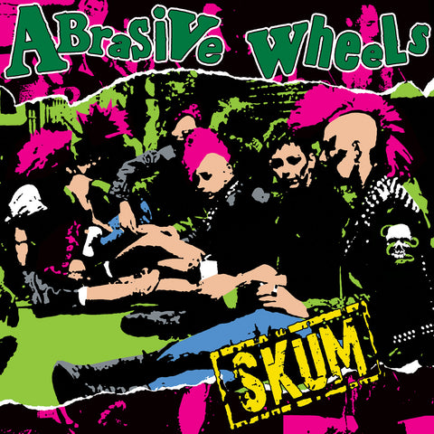 Abrasive Wheels - Scum LP - DeadRockers