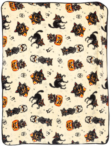Black Cats Blanket
