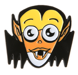Candy Corn Vampire Enamel Pin