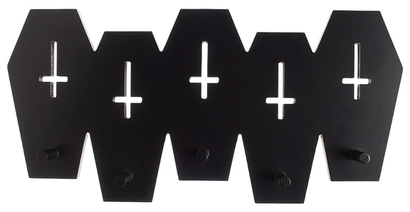 Coffins Wall Hook Rack