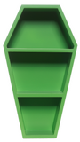 Green Mini Coffin Shelf