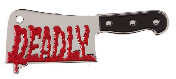 Deadly Cleaver Enamel Pin