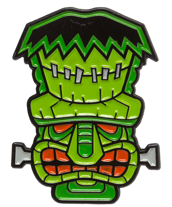 Tiki Franken Monster Enamel Pin