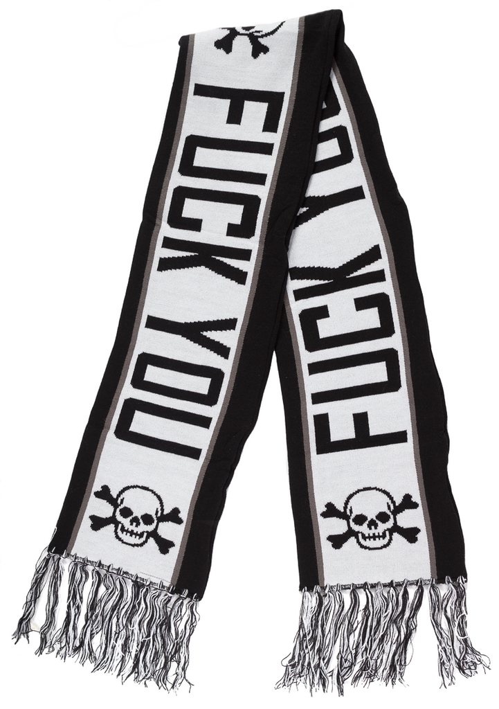 Fuck You Scarf Black