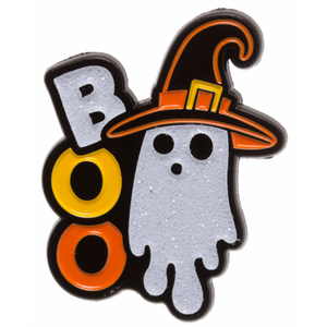 Ghost Witch Enamel Pin