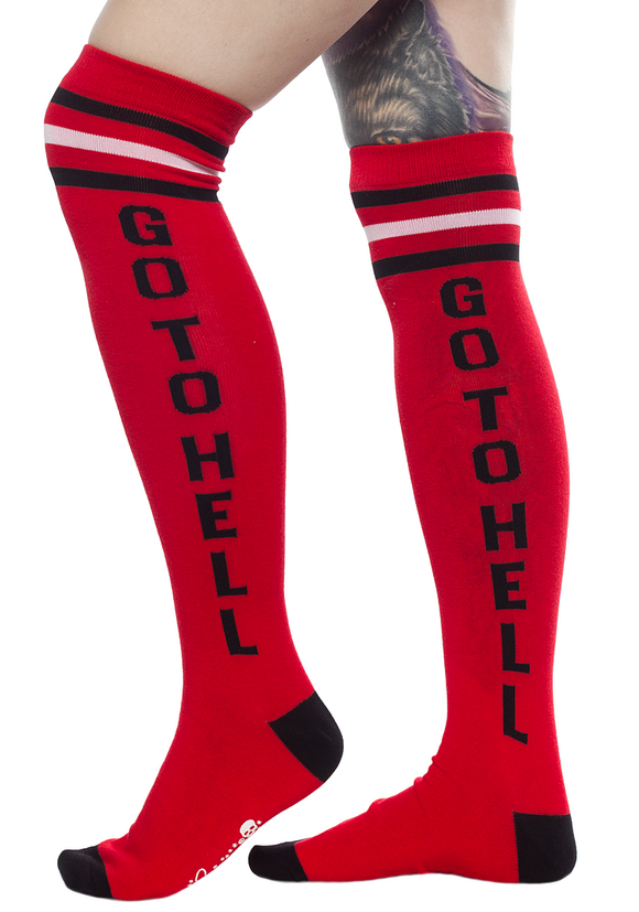 Go To Hell Socks