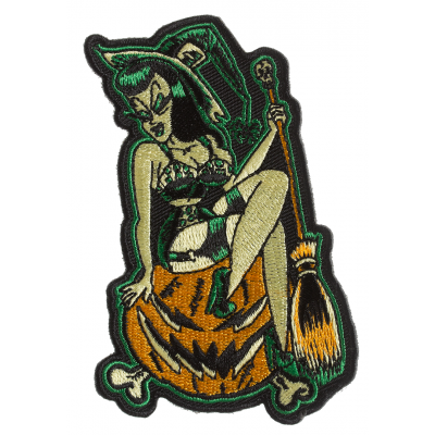 Pumpkin Witch Patch