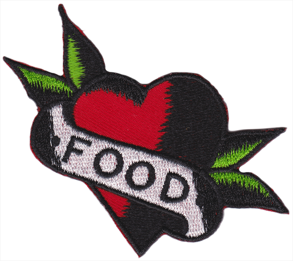 I Heart Food Patch - DeadRockers