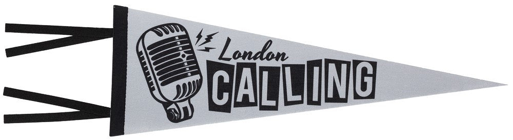 London Calling Pennant - DeadRockers