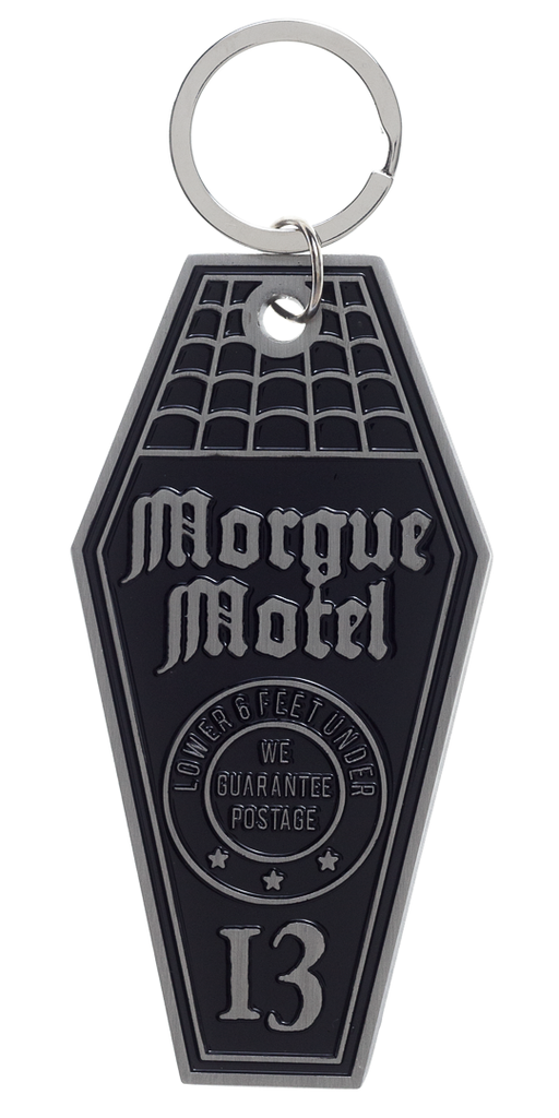 Morgue Motel Key Chain - DeadRockers