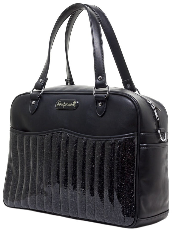 Retro Black Diaper Bag