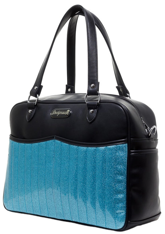 Retro Aqua Diaper Bag