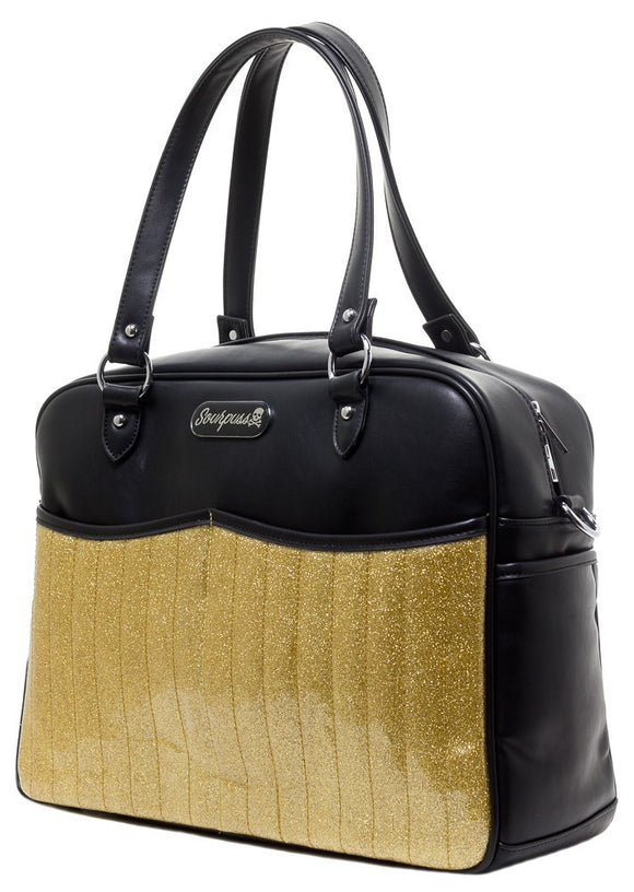 Retro Gold Diaper Bag