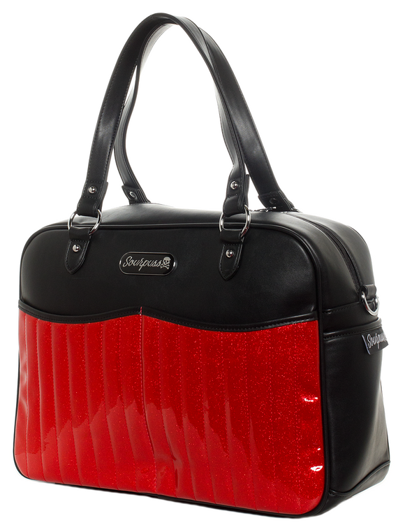 Retro Red Diaper Bag
