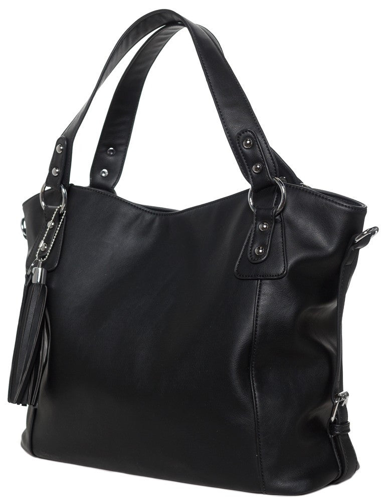 Savage Black Purse