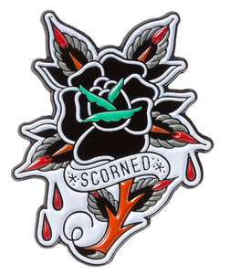 Scorned Rose Enamel Pin