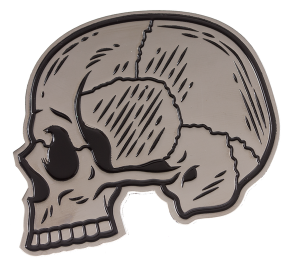 Skull Profile Enamel Pin