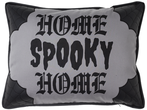 Canvas Spooky Home Pillow - DeadRockers