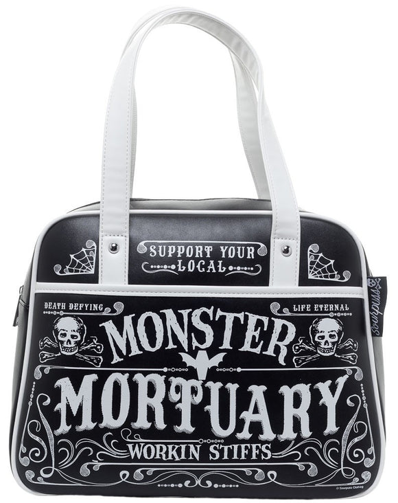 Mortuary Bowler Bag - DeadRockers