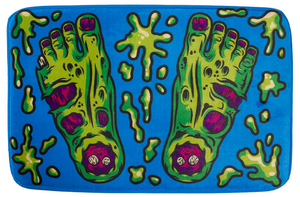 Zombie Feet Bath Mat