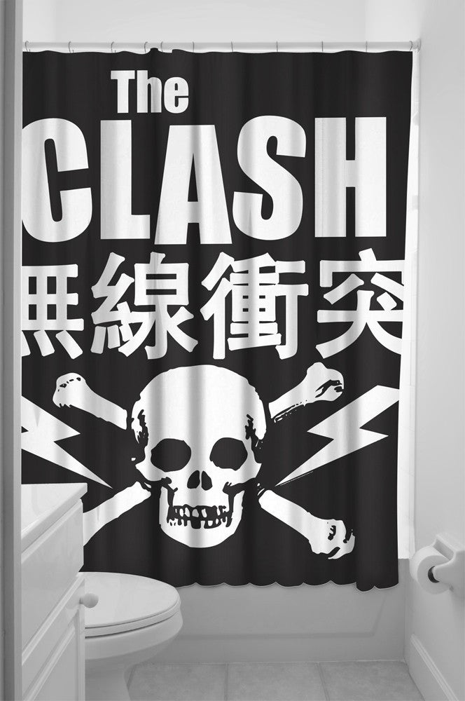The Clash Shower Curtain - DeadRockers
