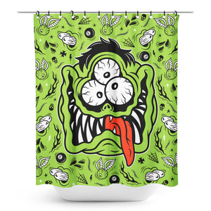 Fink Face Shower Curtain