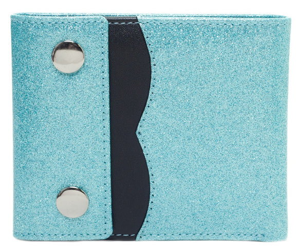 Teal Sabrina Wallet - DeadRockers