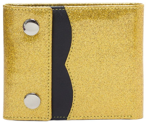 Gold Sabrina Wallet - DeadRockers