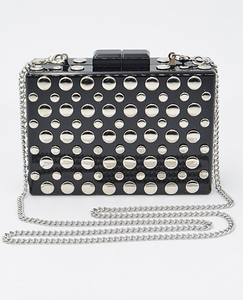Studded Polka Dot Purse