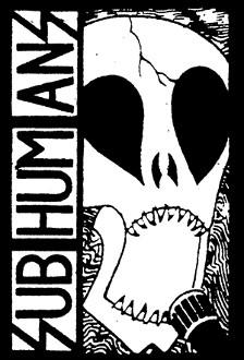 Subhumans Skull Logo Back Patch