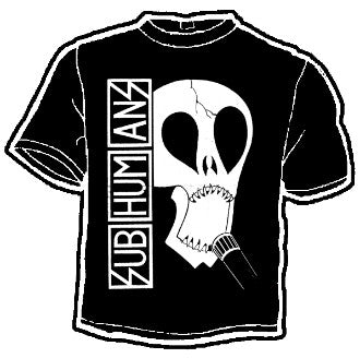Subhumans Skull Band Tee