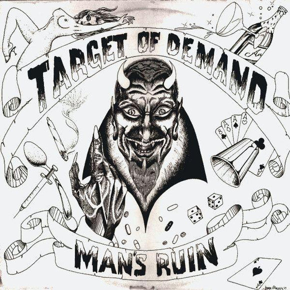Target Of Demand - Man's Ruin LP