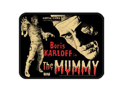 Borid Karloff Mummy Patch