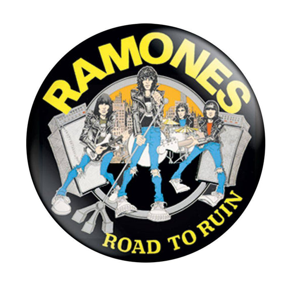 Ramones Road to Ruin Pin