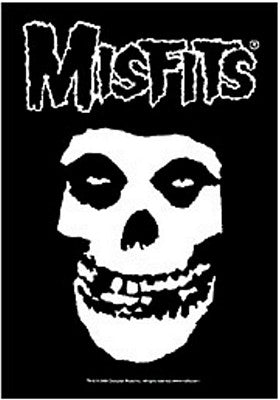 Misfits Fabric Poster - DeadRockers